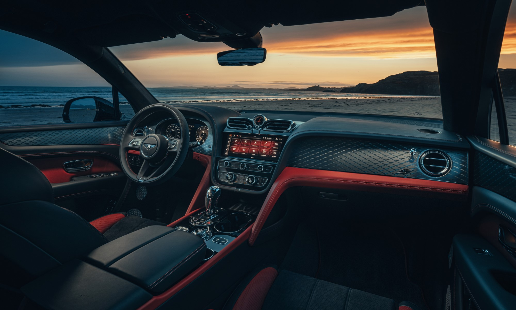 Bentley Bentayga S cabin