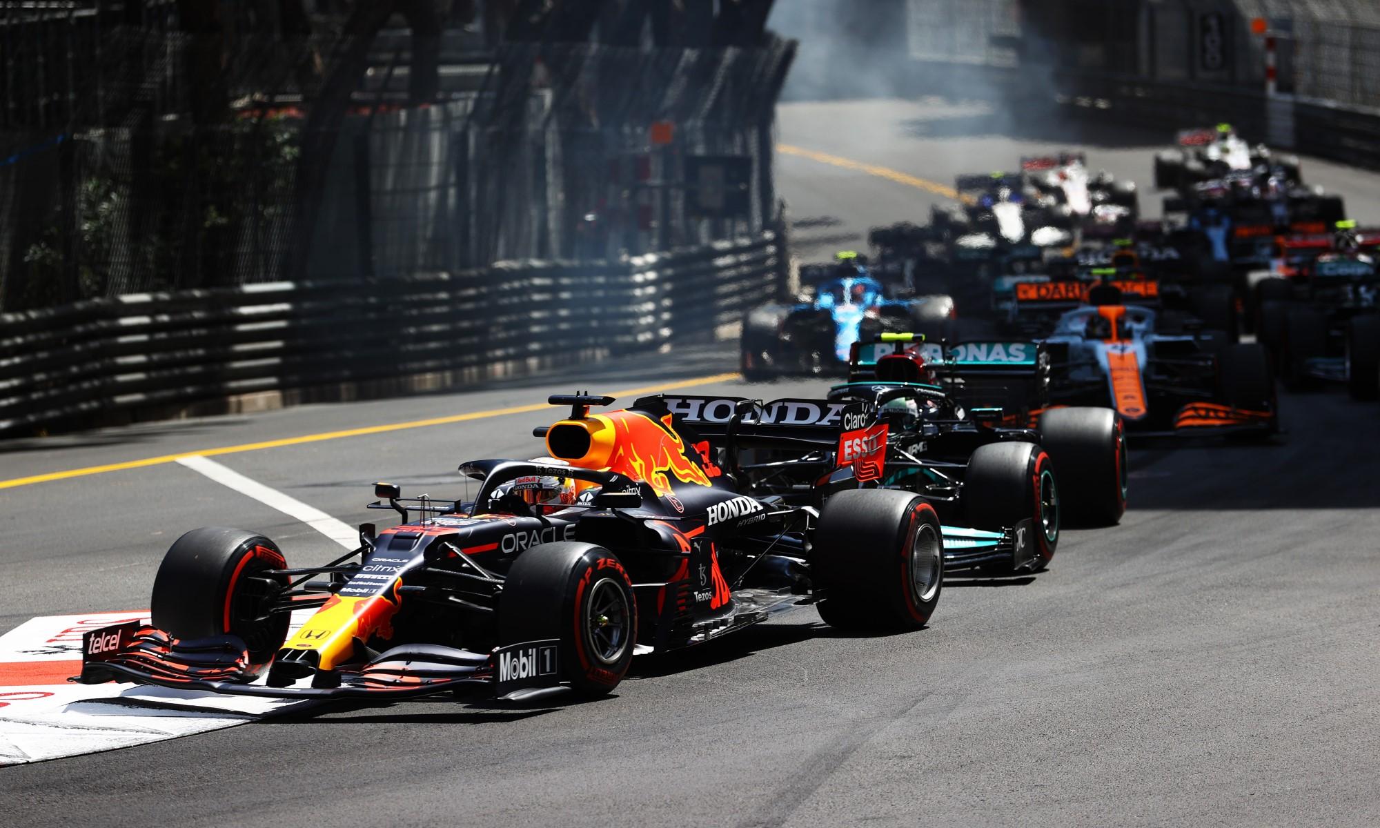 F1 Review Monaco 2021 start