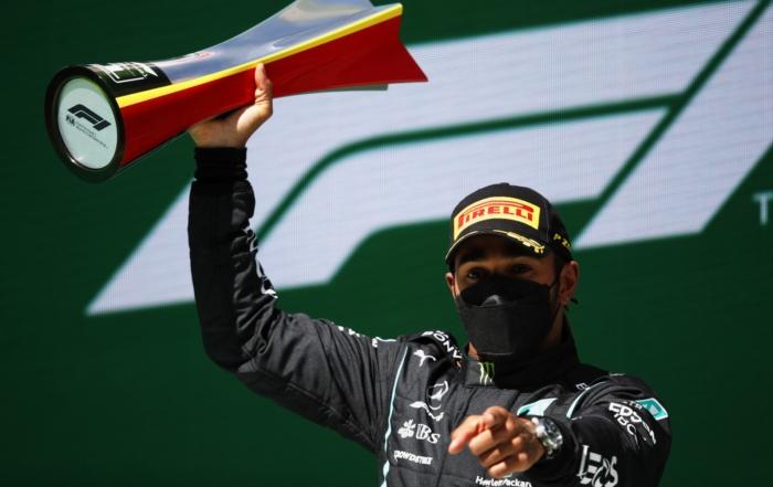 F1 Review Portuguese GP 2021 - winner Hamilton