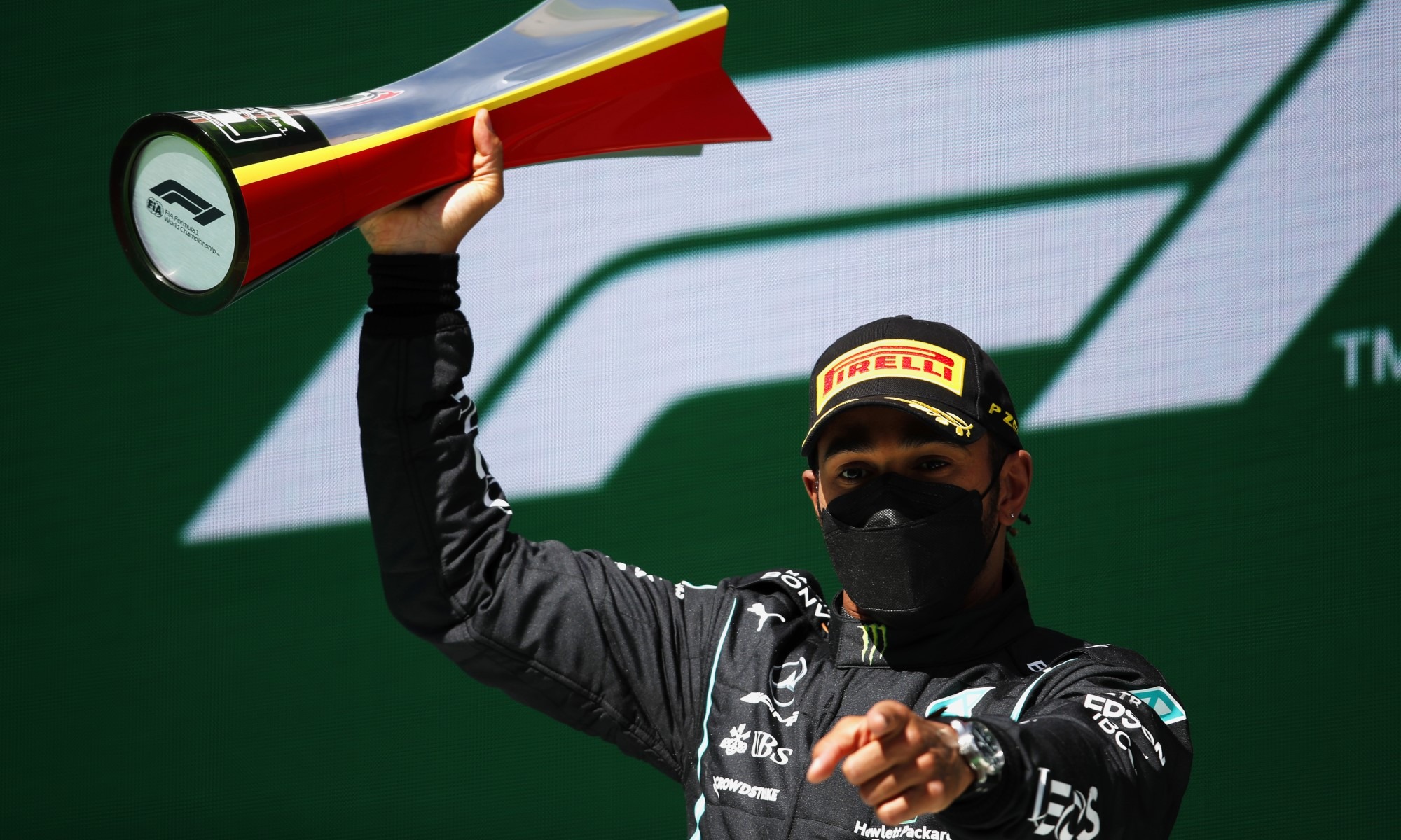 F1 Review Portuguese GP 2021 - winner Hamilton