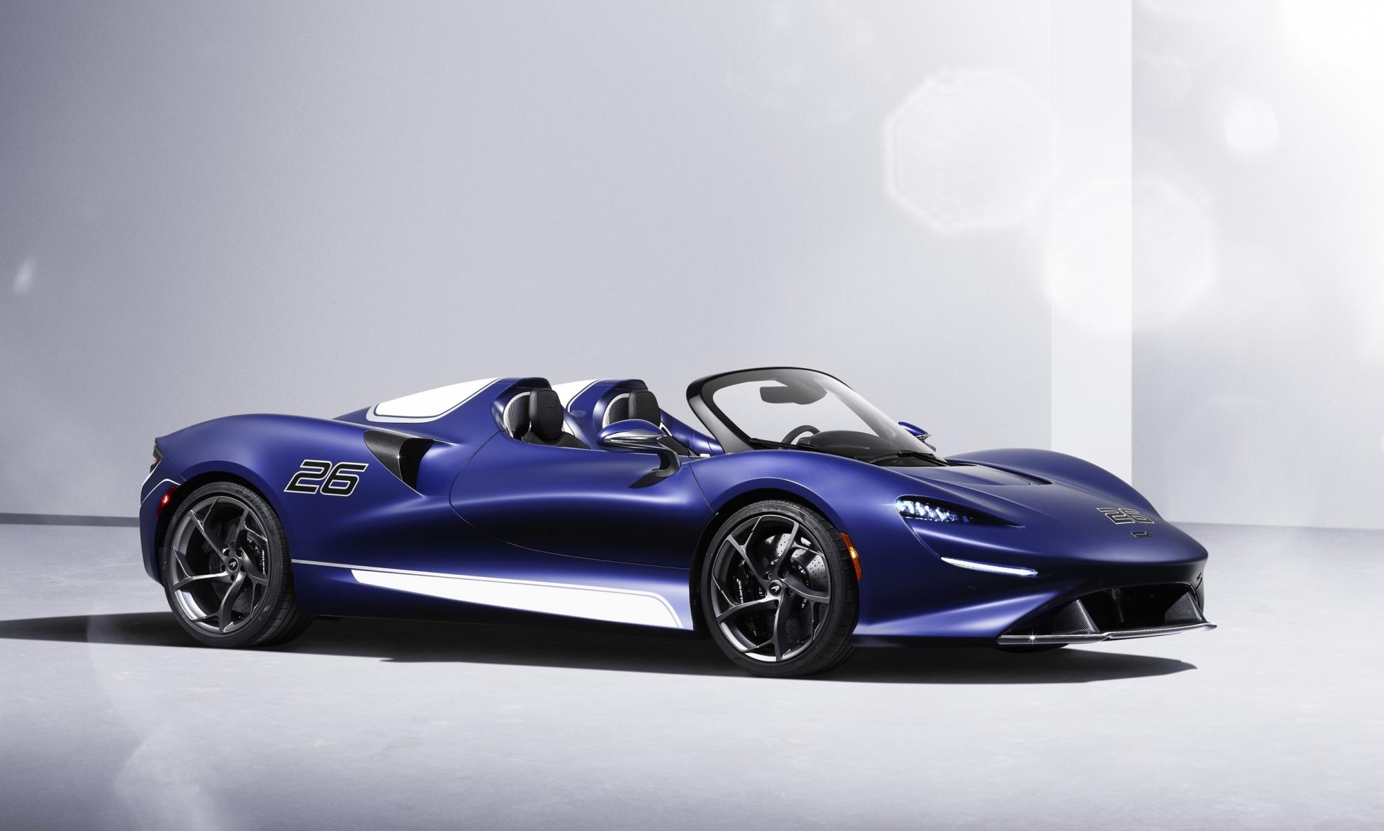 McLaren Elva With Windscreen
