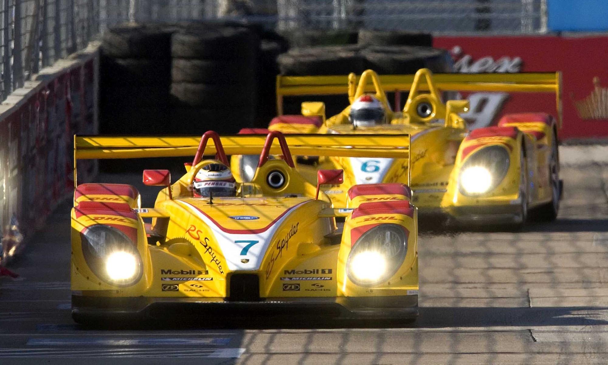Porsche Returns to Le Mans RS Spyder