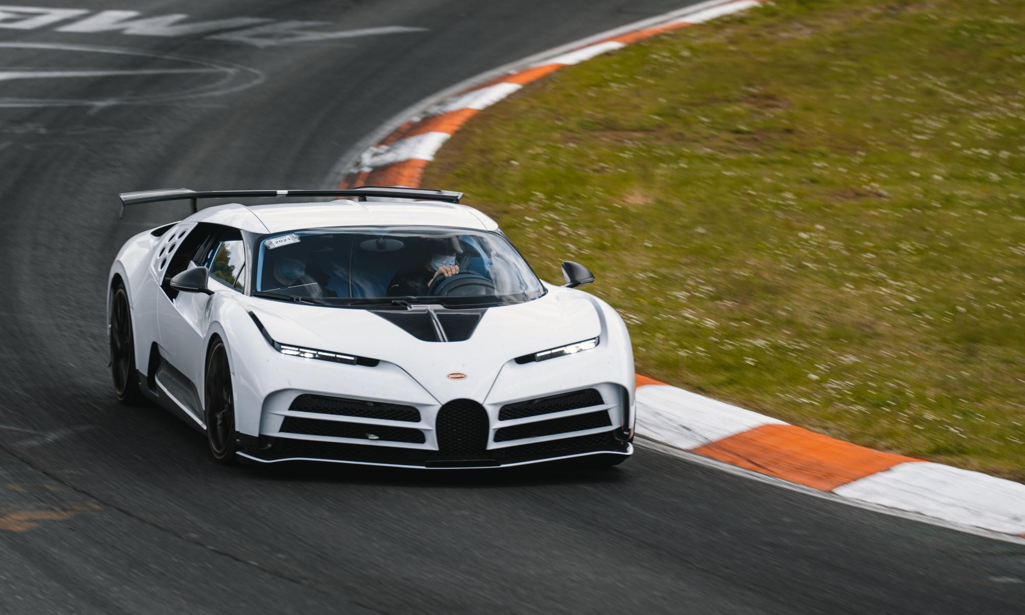 Testing Bugatti's Centodieci