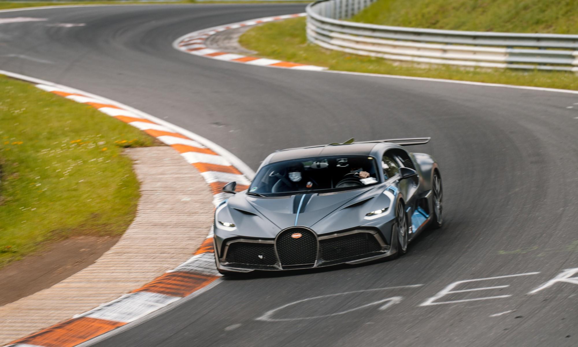 Testing Bugatti's Divo