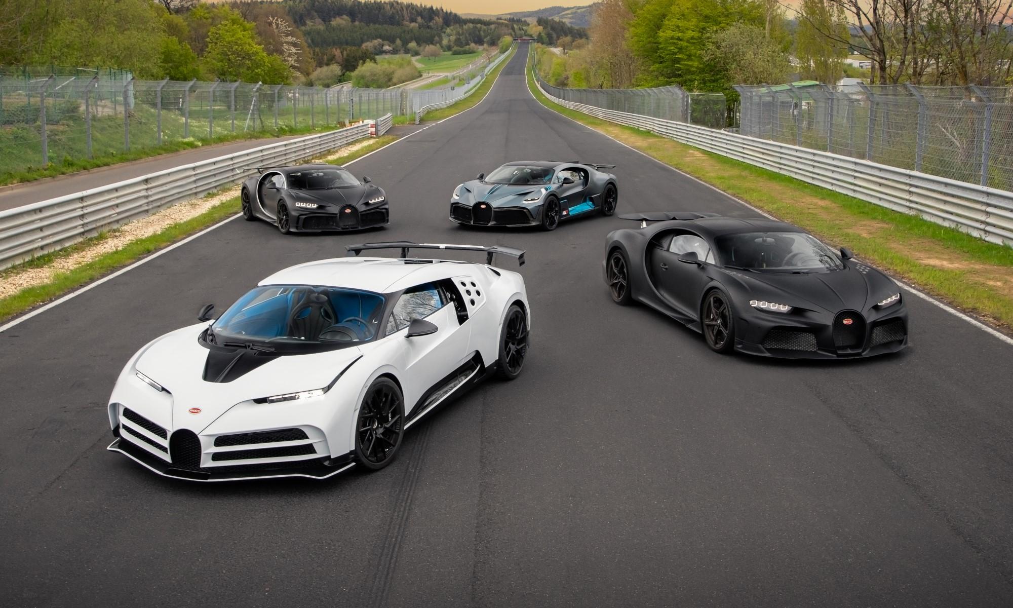 Testing Bugattis