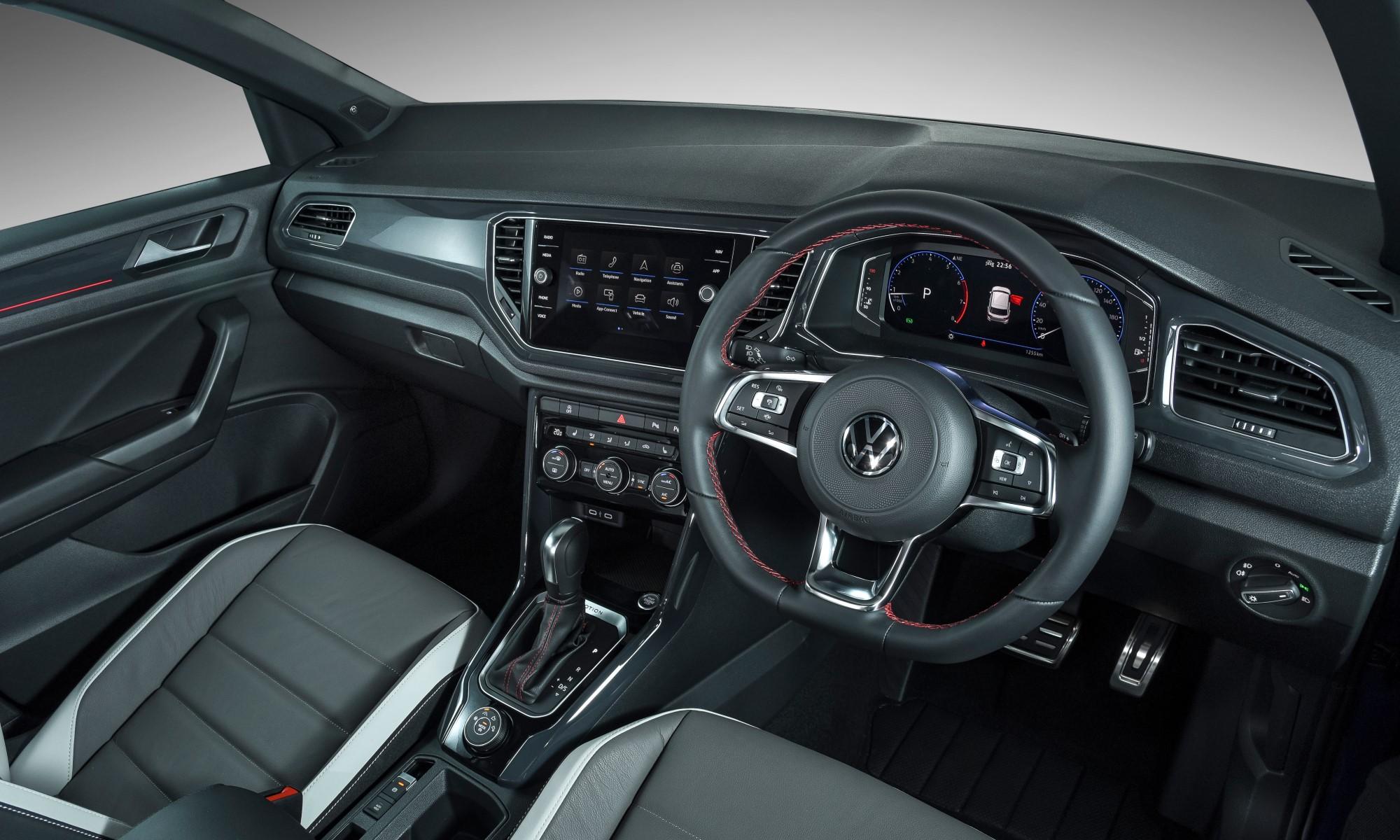 Volkswagen T-Roc 2,0 4Motion R-Line interior