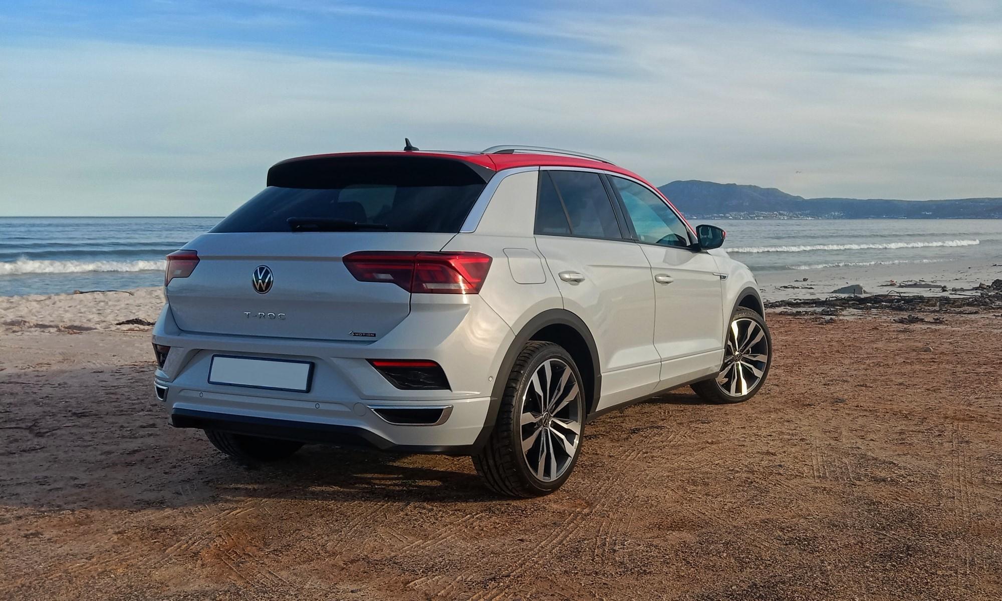 Volkswagen T-Roc 2,0 4Motion R-Line rear
