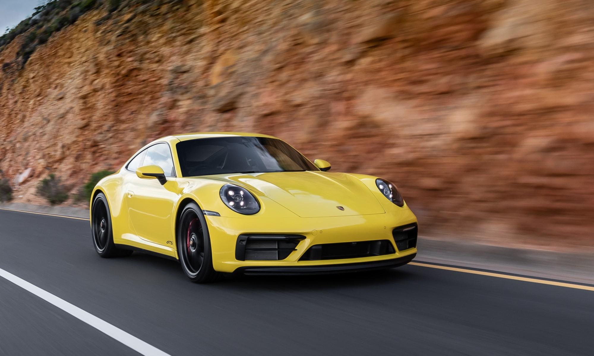 Porsche 911 GTS Derivatives Driven