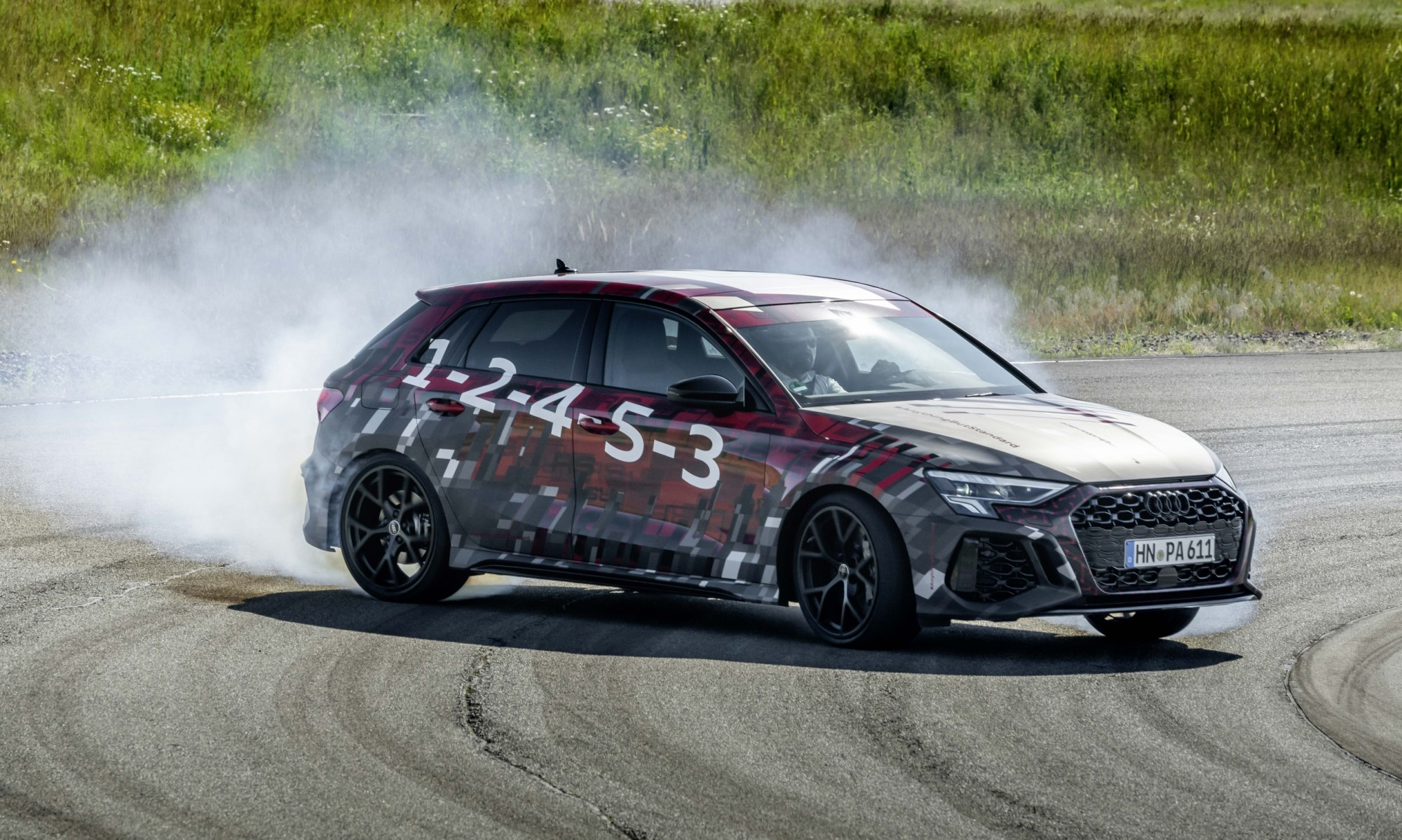 Audi RS3 Prototypes drifting 1