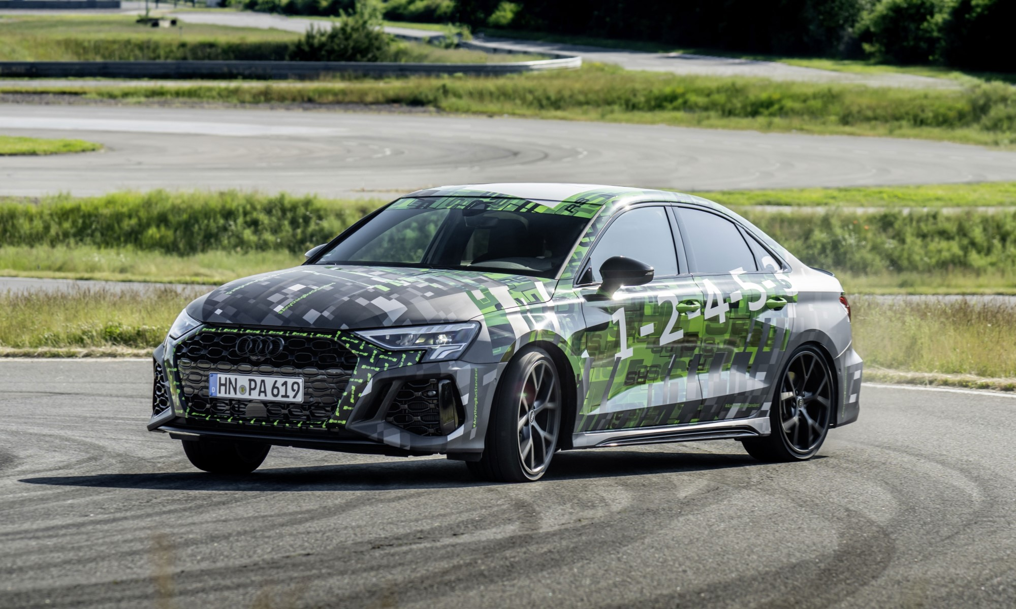 Audi RS3 Prototypes drifting 2