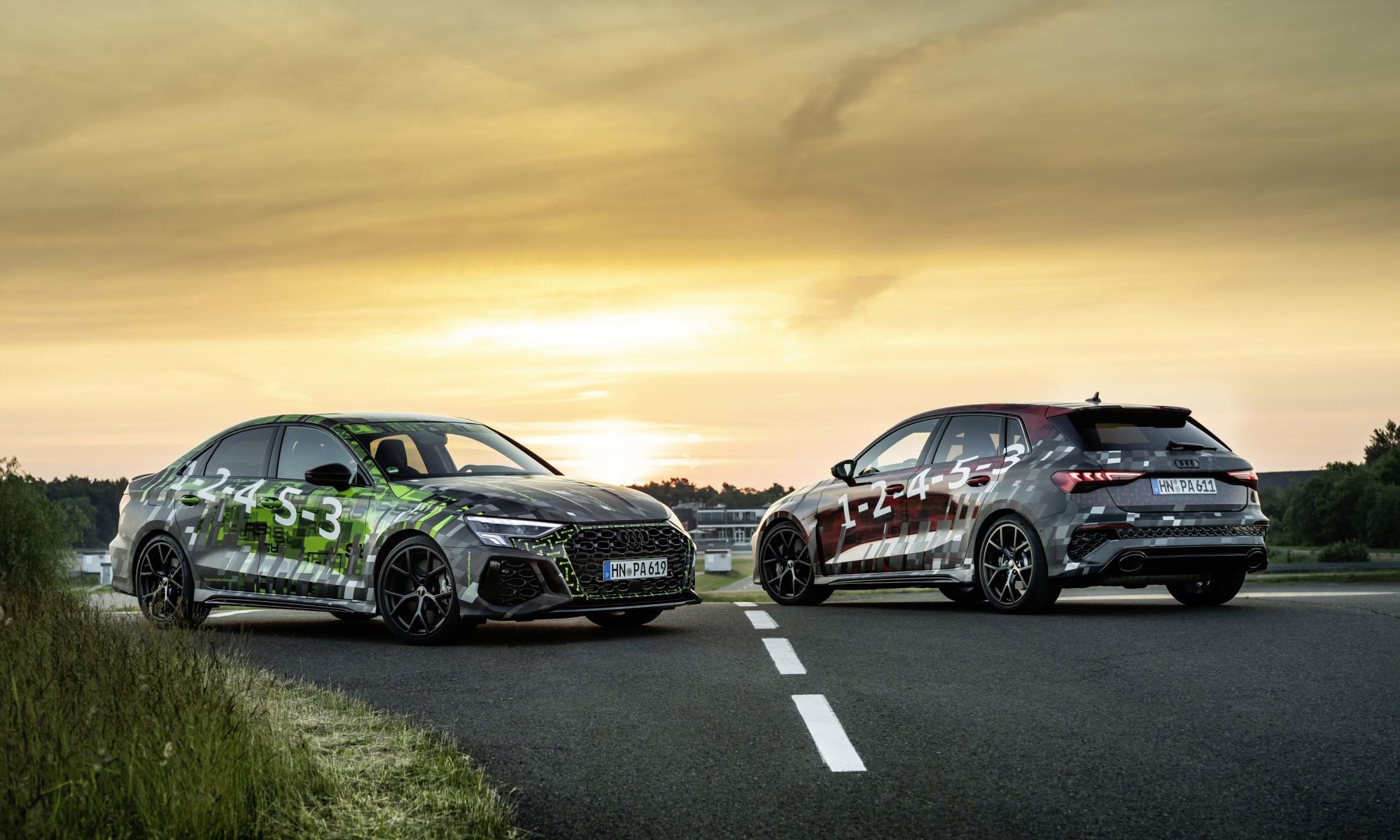 Audi RS3 Prototypes