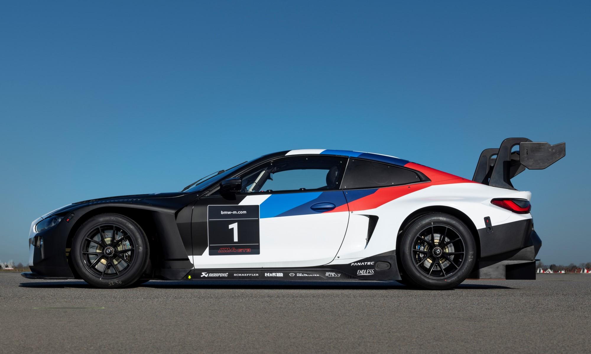 BMW M4 GT3 profile