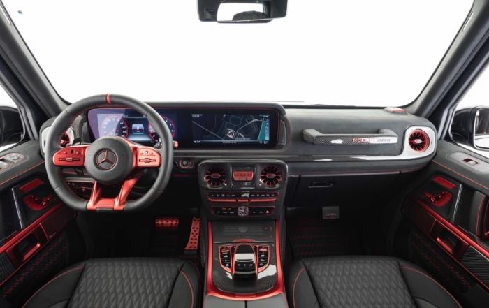 Brabus 900 Rocket Edition interior