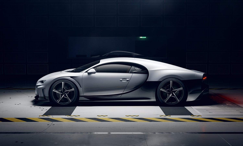 Bugatti Chiron Super Sport profile