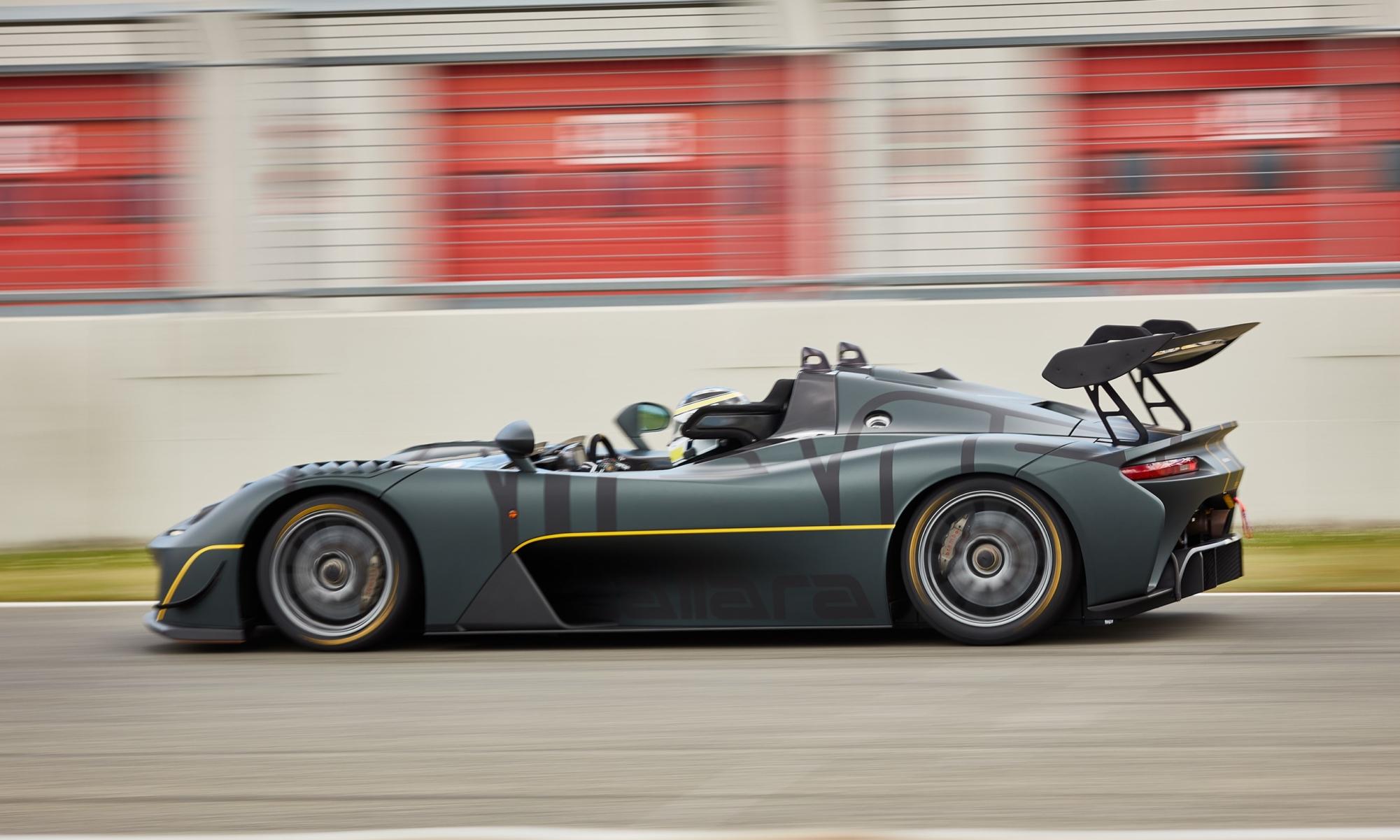 Dallara Stradale EXP side