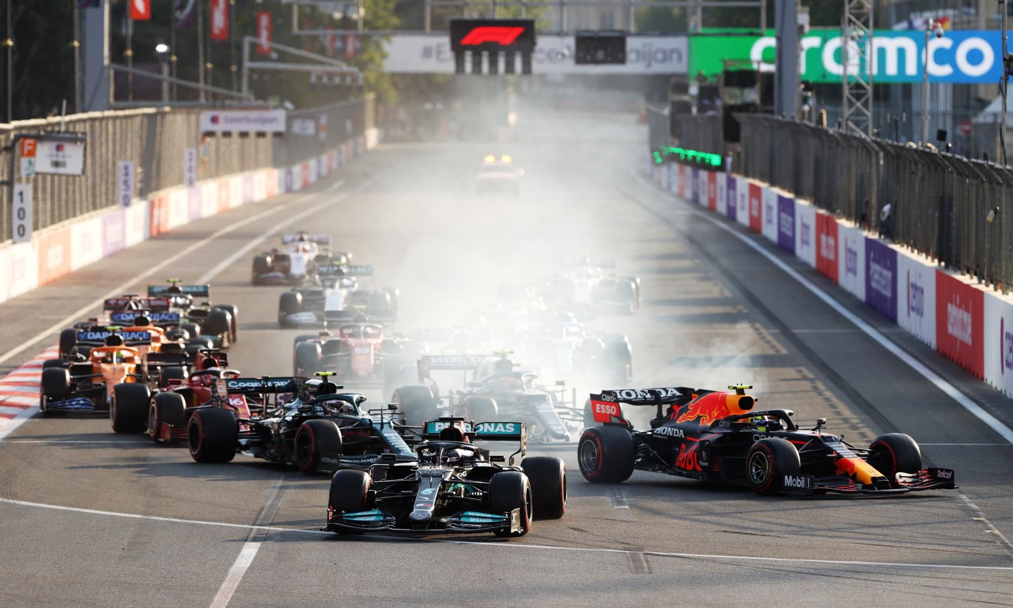 F1 Review Azerbaijan 2021