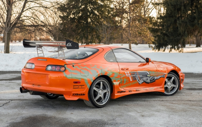 Fast and Furious Supra rear