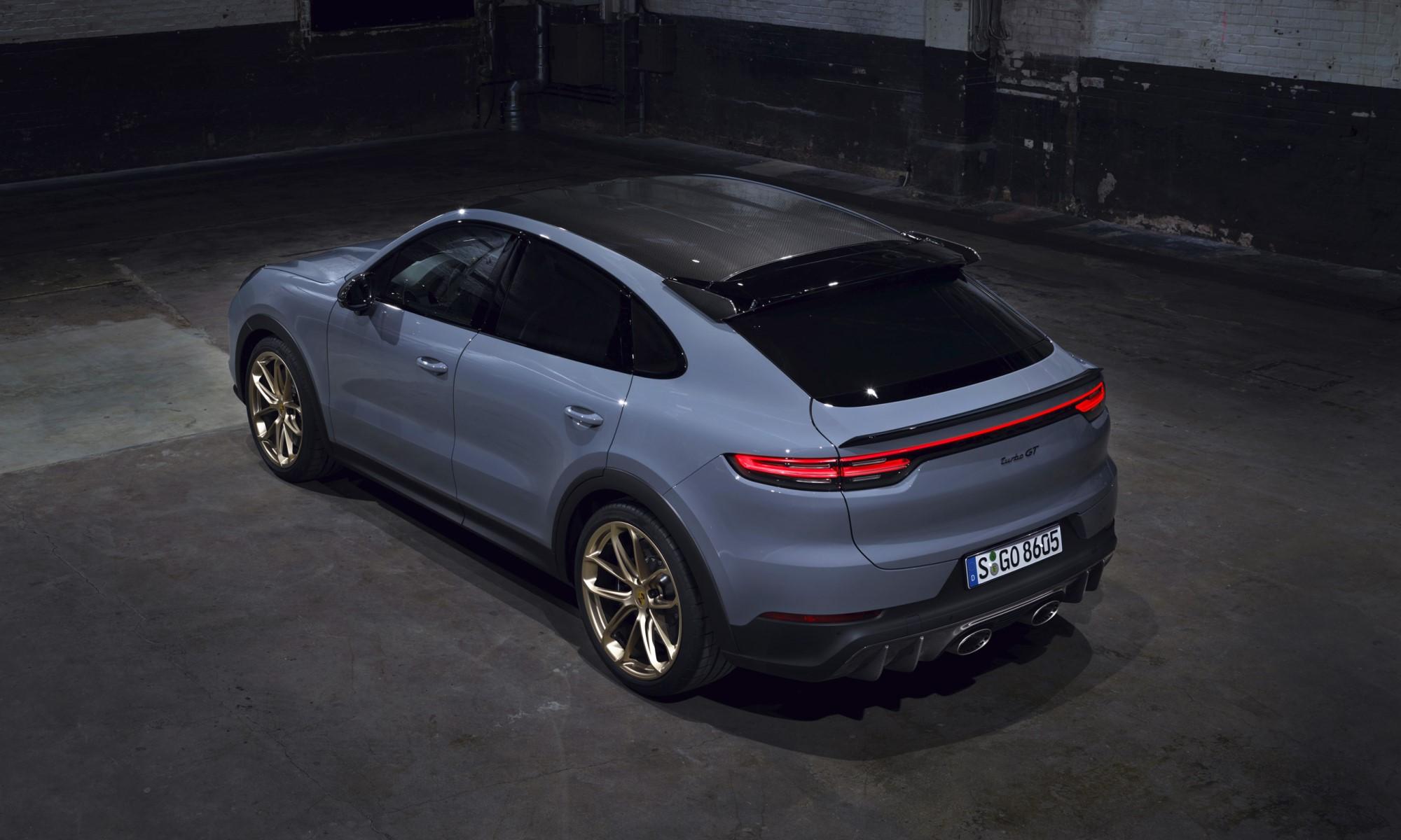 Porsche Cayenne Turbo GT rear
