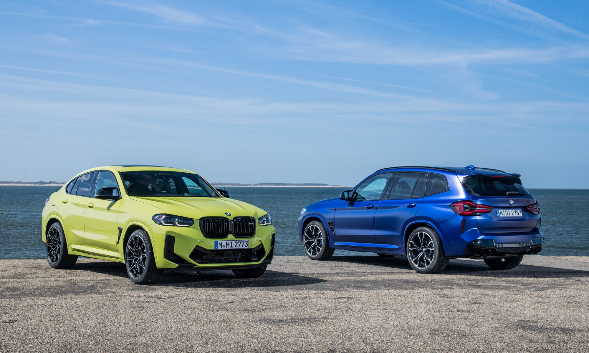 Refreshed BMW X3M and X4M