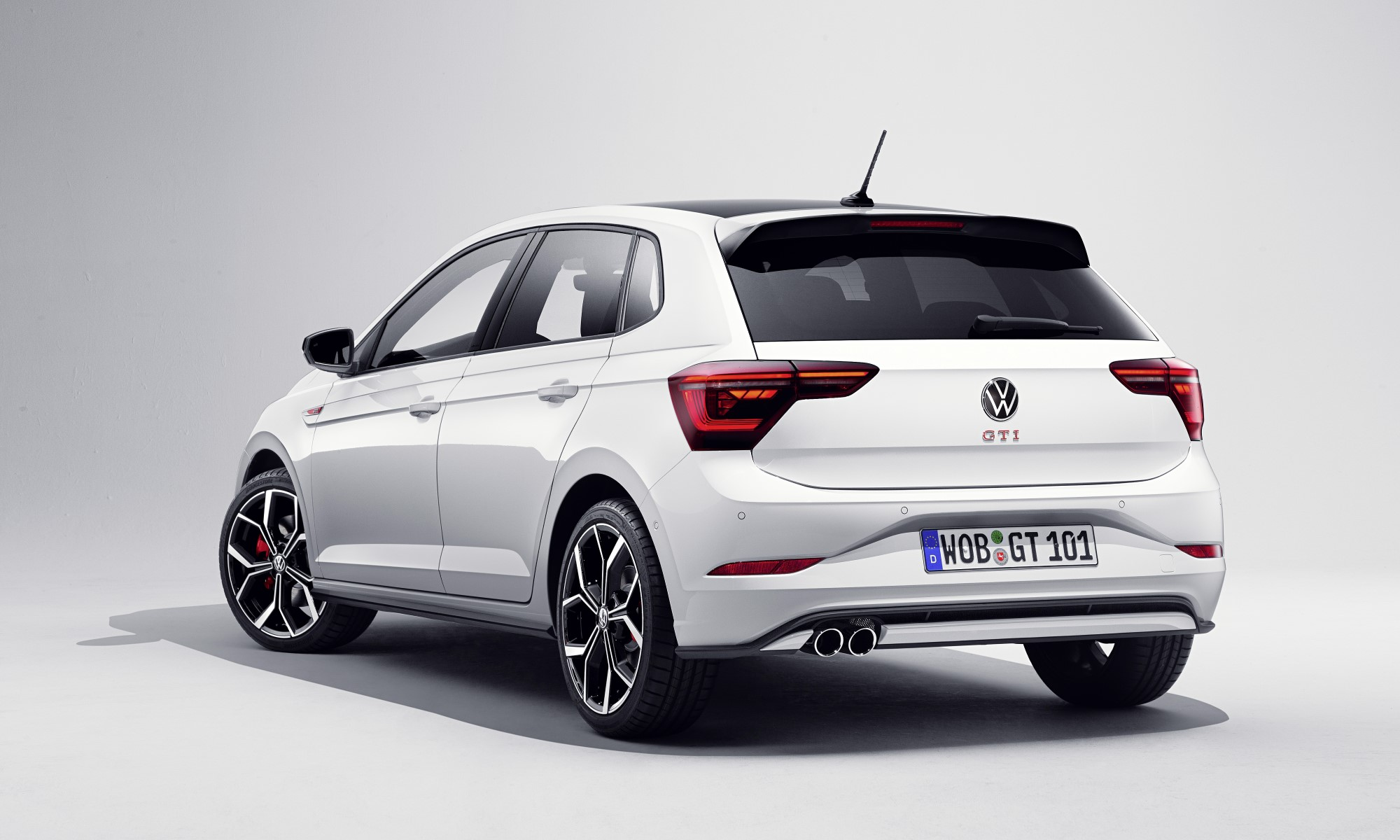 Refreshed VW Polo GTI rear