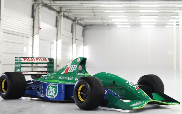 Schumacher Jordan F1 car