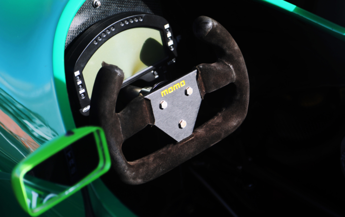 Schumacher Jordan F1 car steering