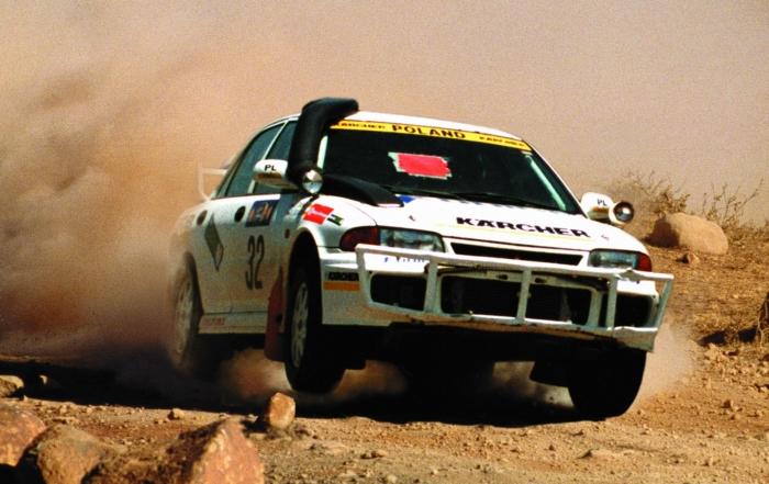 Sobieslaw Zasada the last time he entered the Safari Rally.