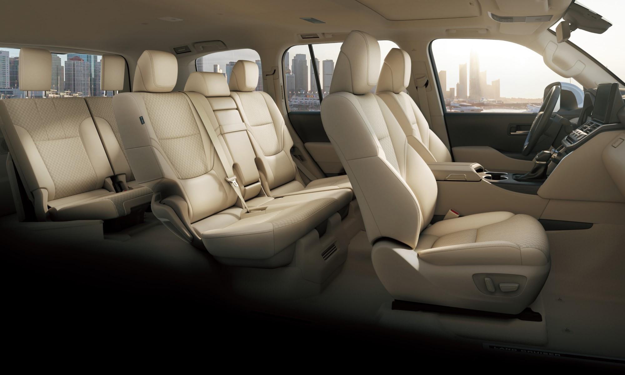 Toyota Land Cruiser 300 cabin