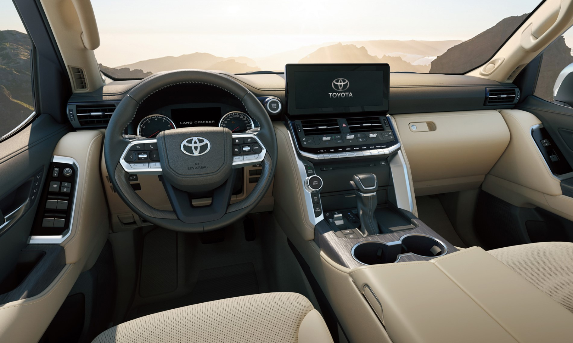 Toyota Land Cruiser 300 interior