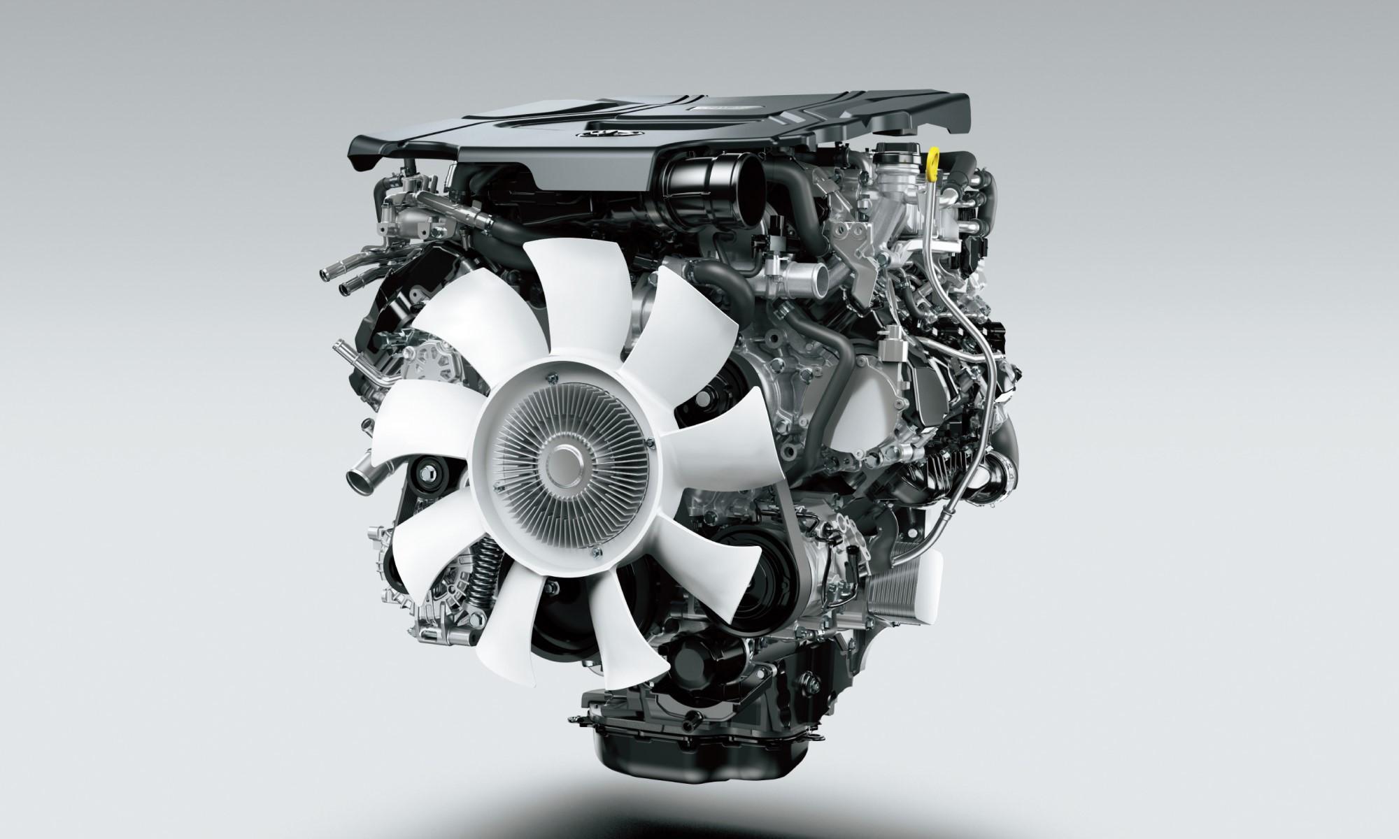 Toyota Land Cruiser 300 new engine