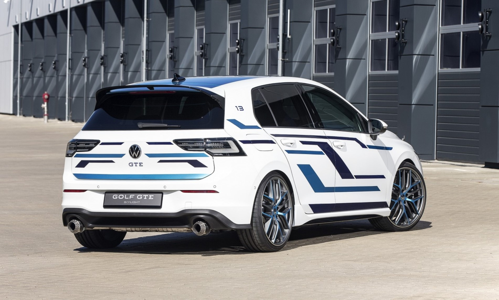 VW Golf GTE Skylight rear