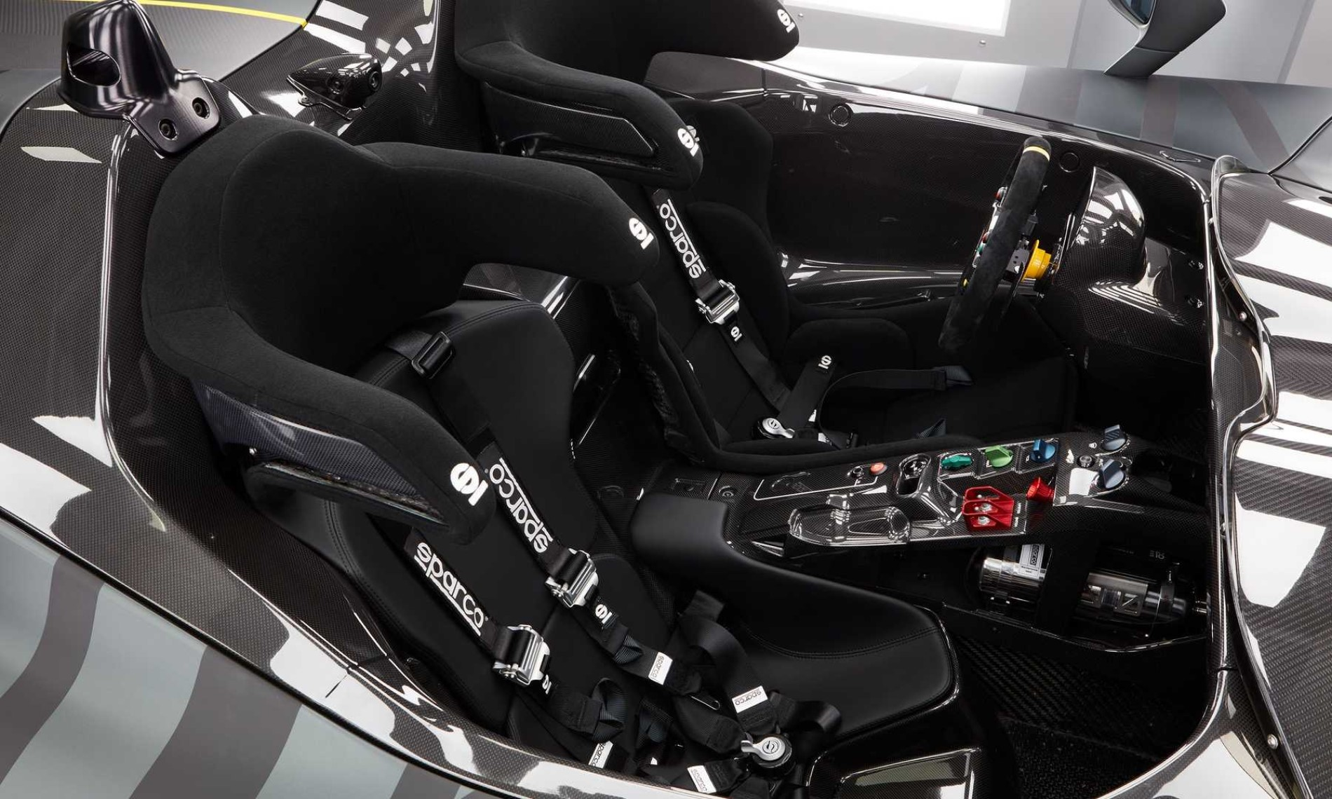 Dallara Stradale EXP interior