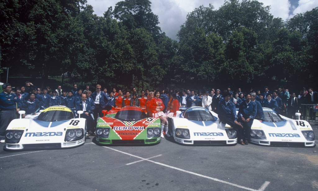 Mazda at Le Mans in 1991