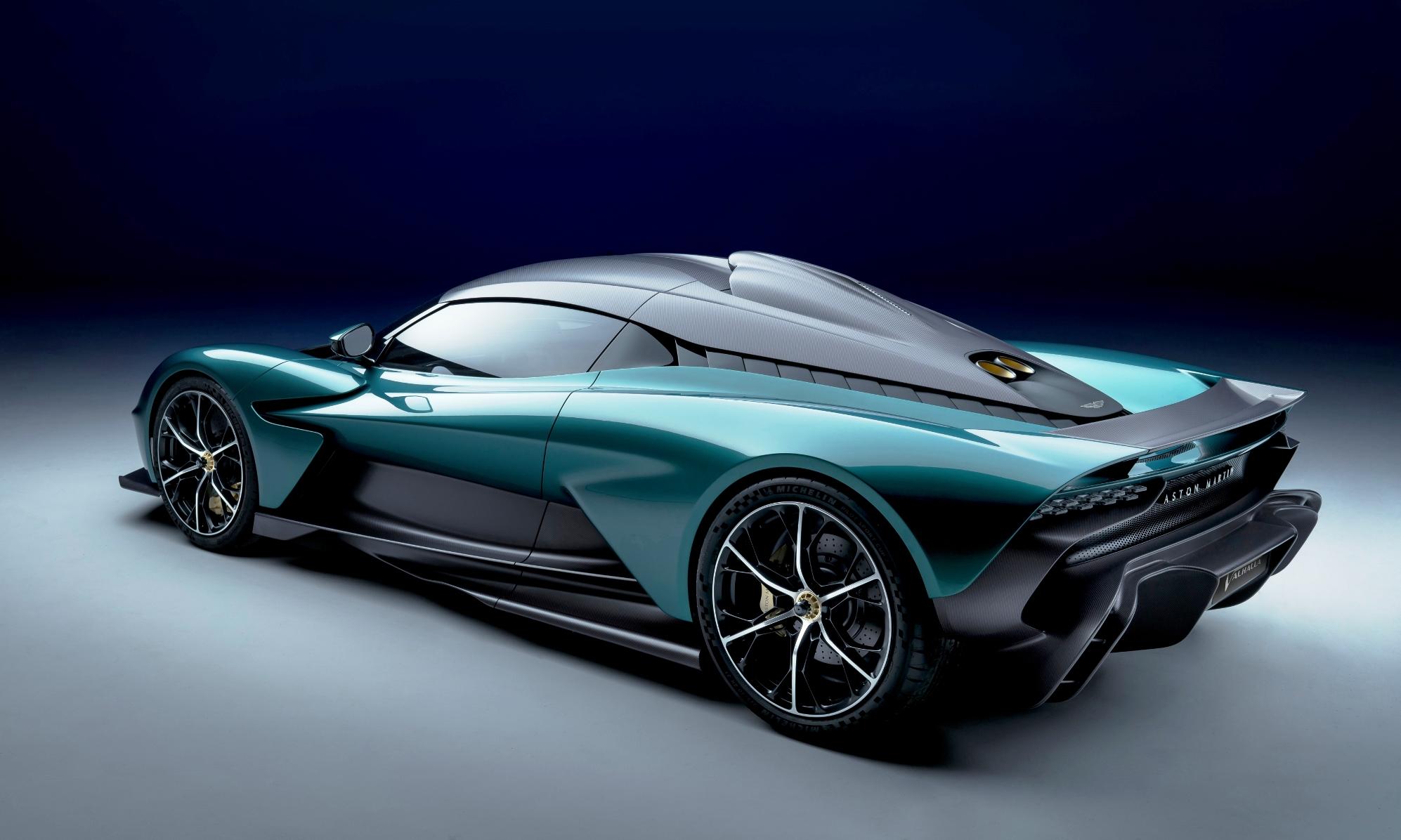 Aston Martin Valhalla side rear