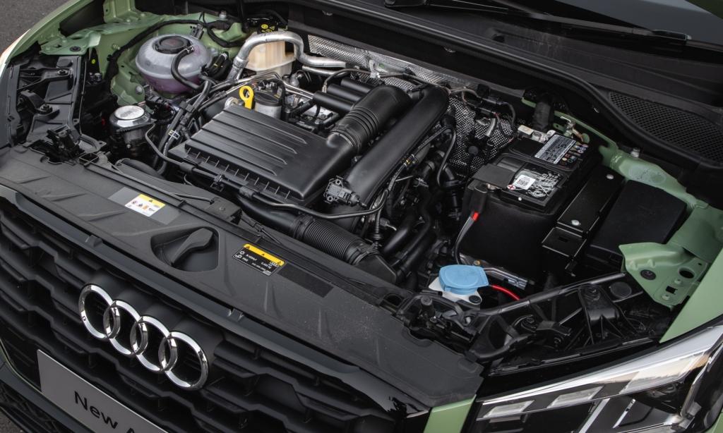 Audi Q2 35 TFSI S-Line engine