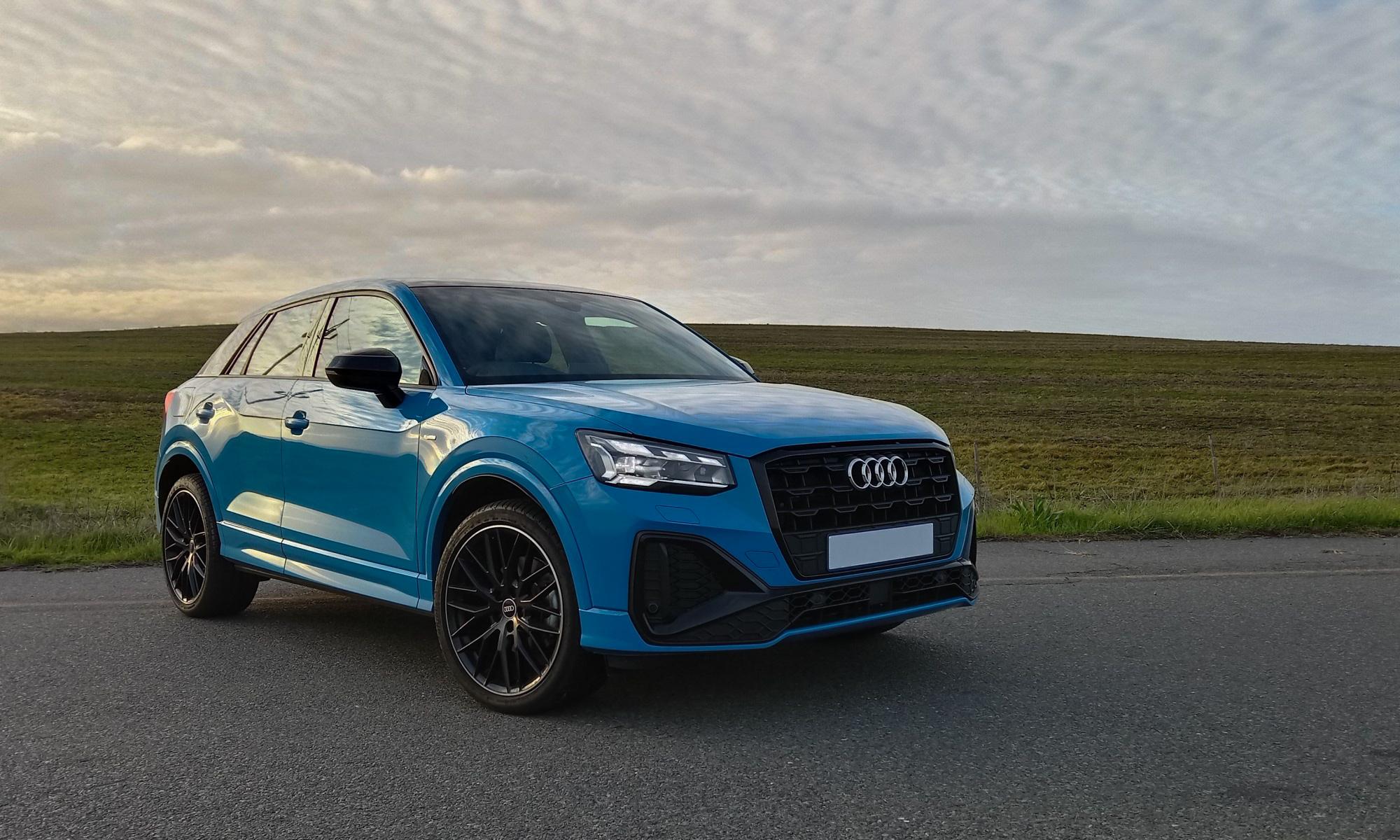 Audi Q2 35 TFSI S-Line front