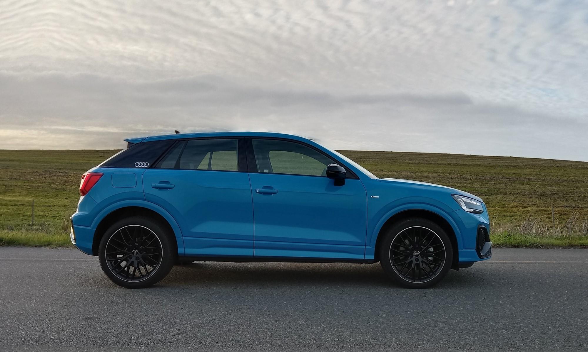 Audi Q2 35 TFSI S-Line profile