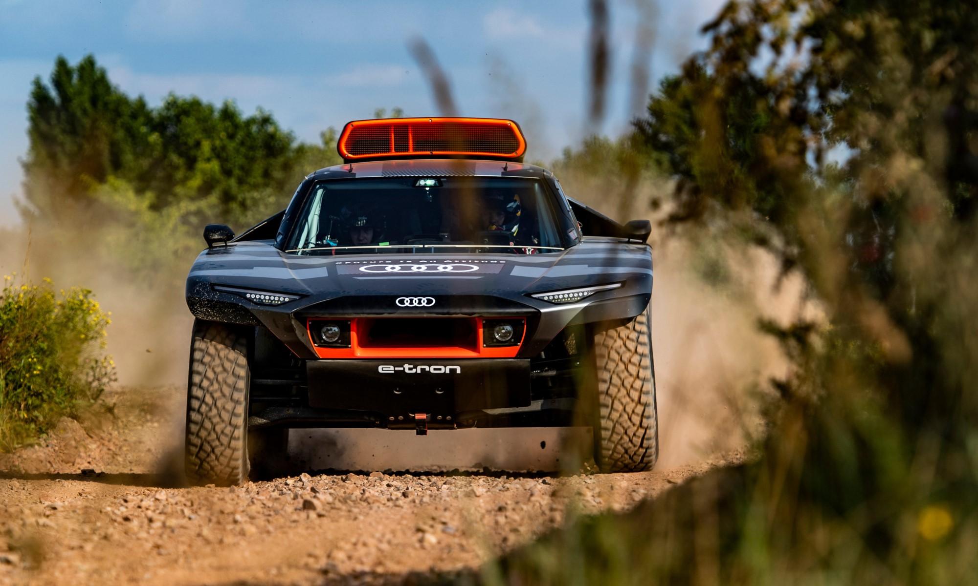 Audi RS Q E-tron front