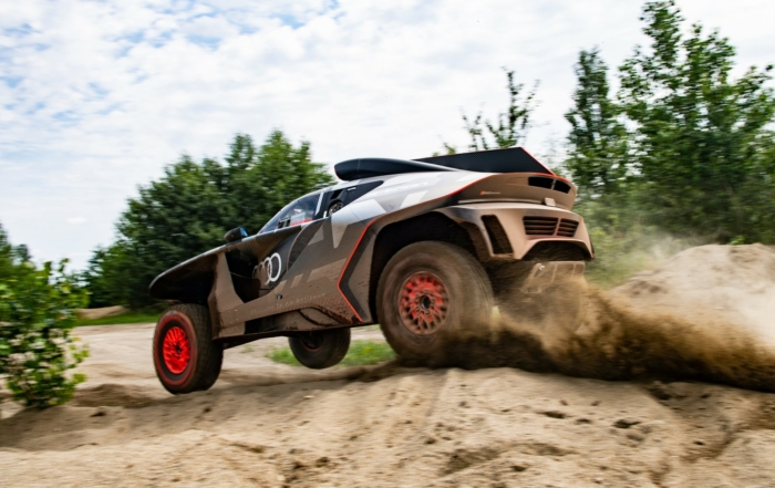 Audi RS Q E-tron rear