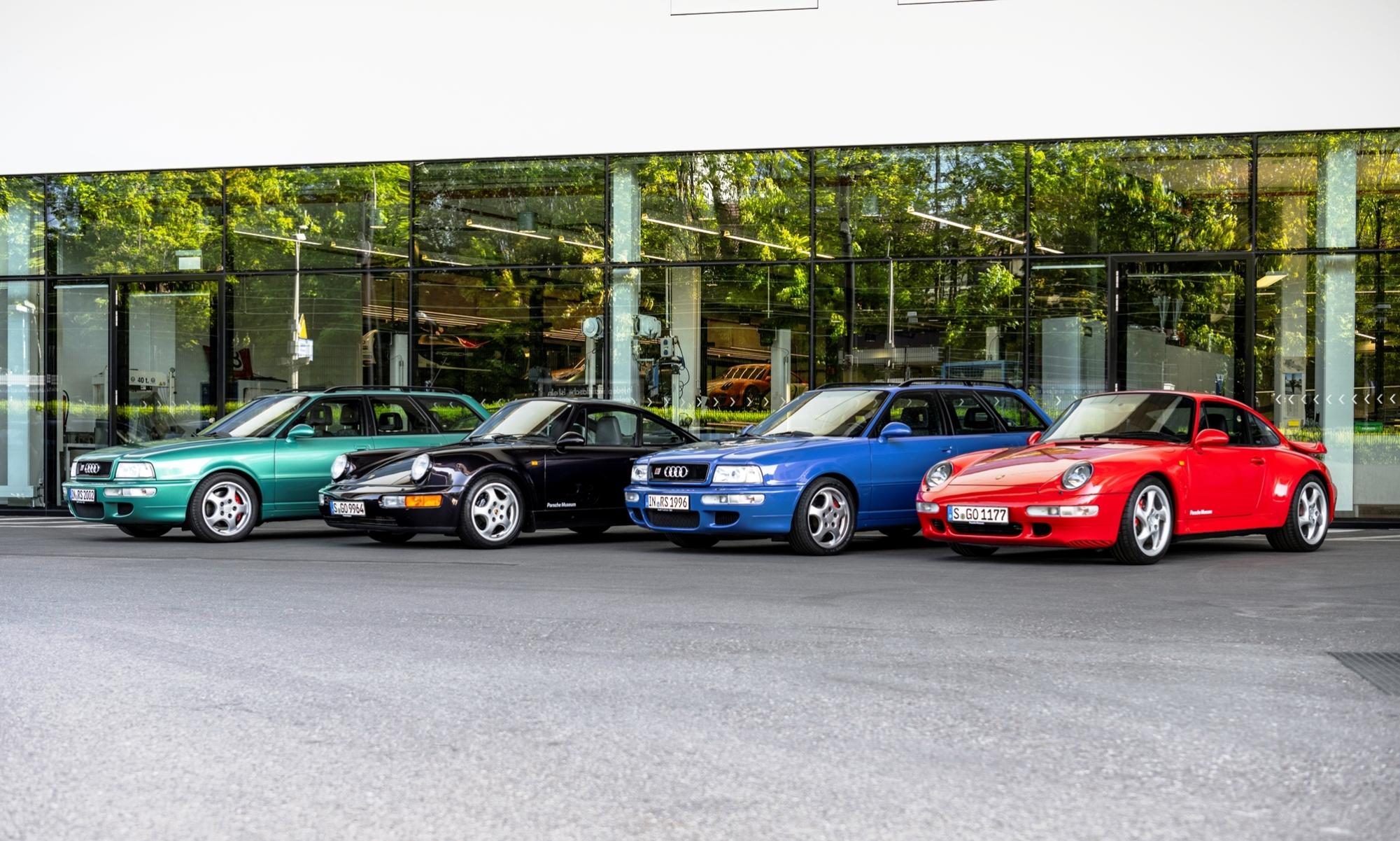 Audi RS2 Avant Development