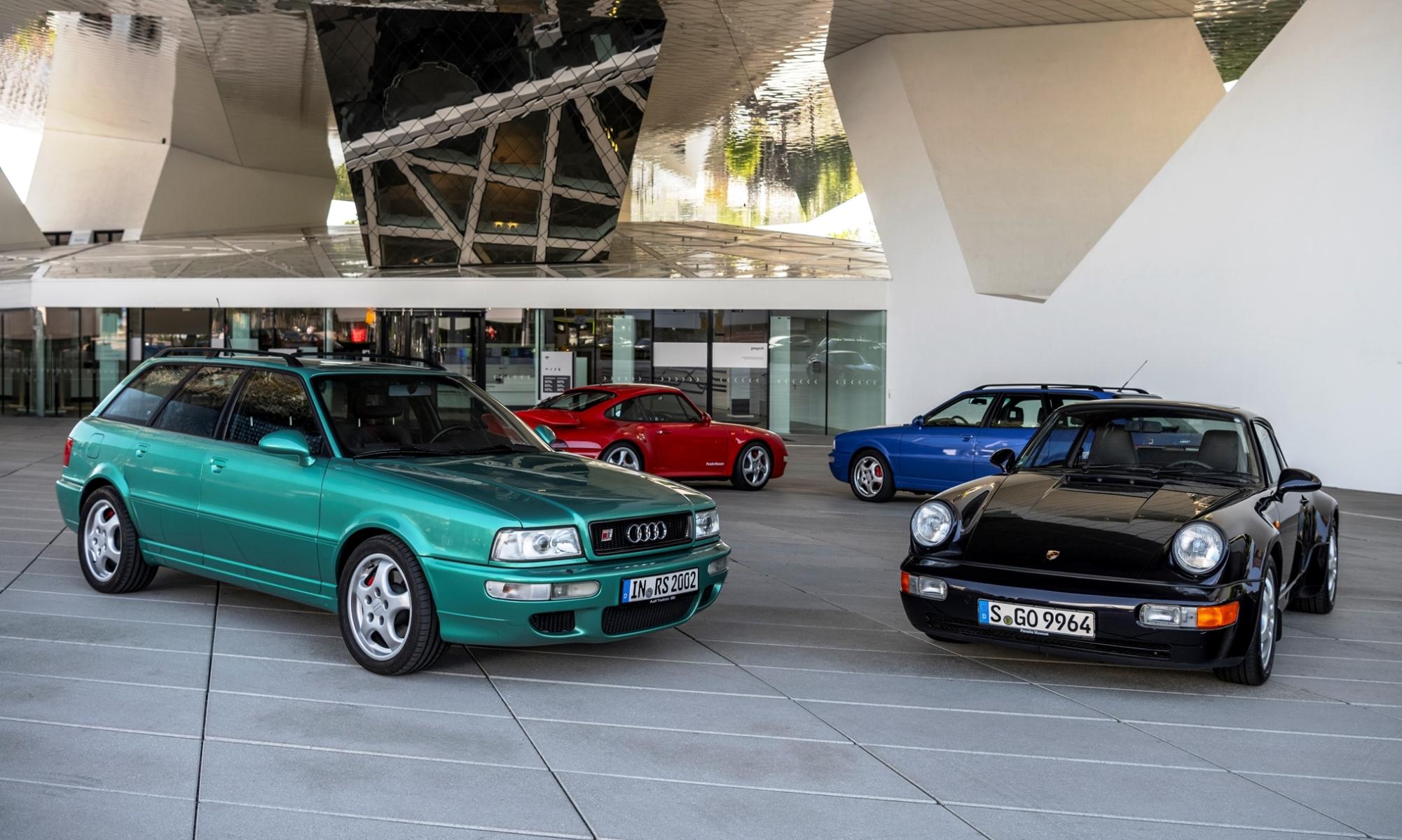 Audi RS2 Avant Development with 911s