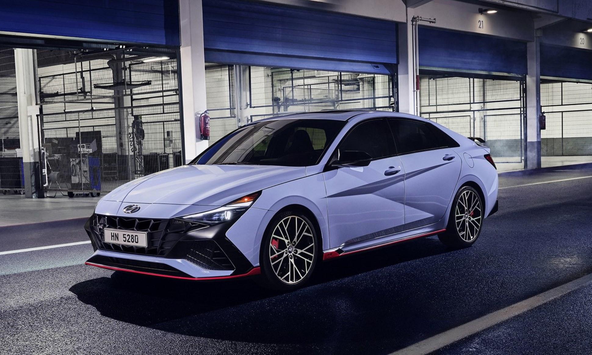Hyundai Elantra N debuts