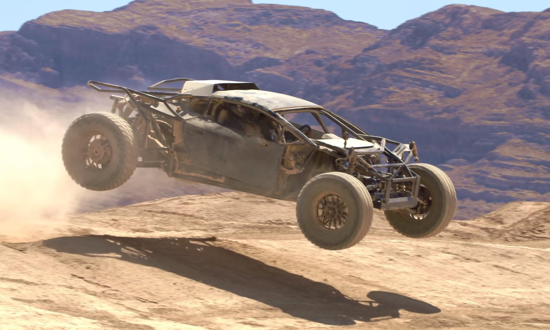 Lamborghini Jumpacan jumping