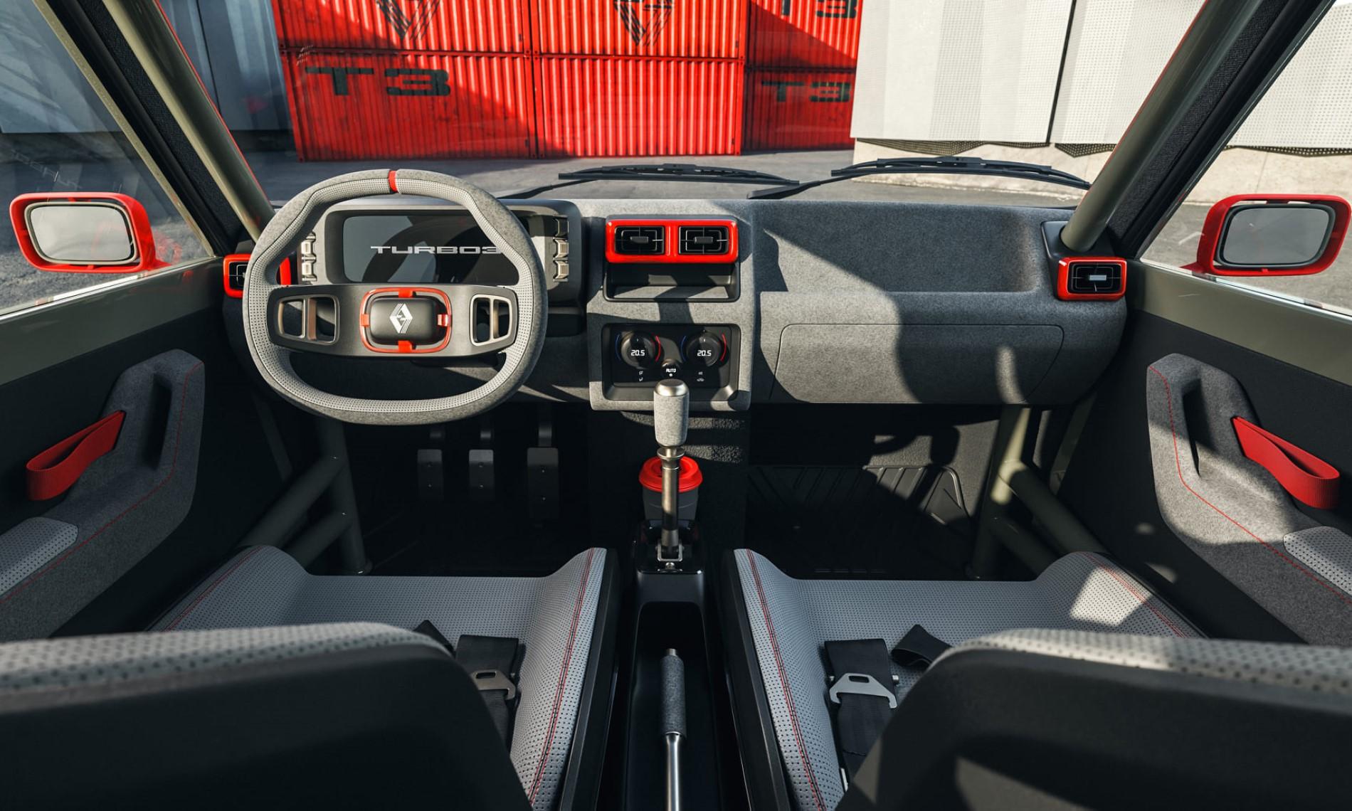 Legende Automobiles Turbo 3 interior