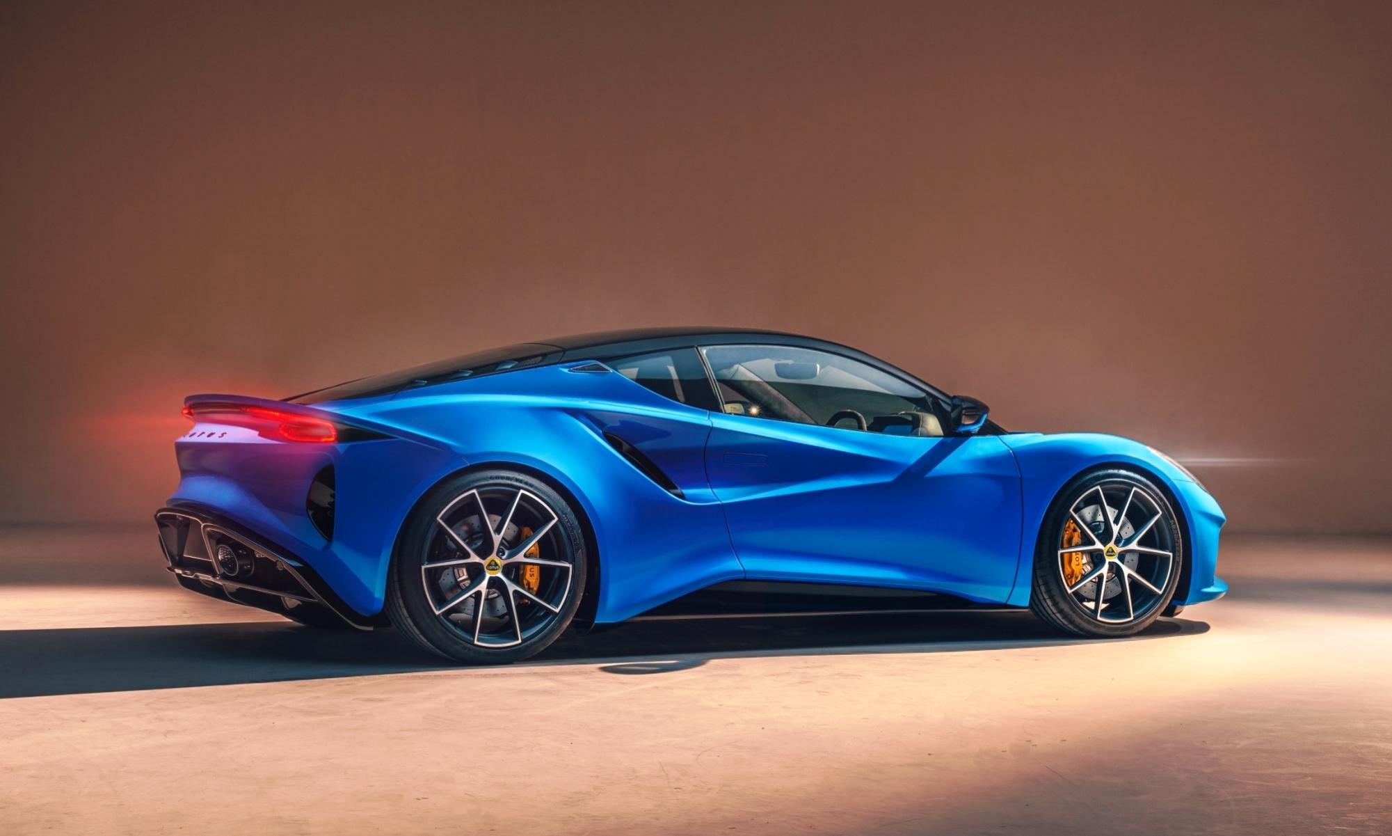 Lotus Emira rear