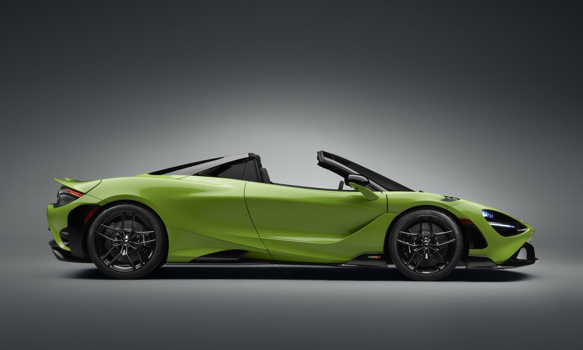 McLaren 765LT Spider profile