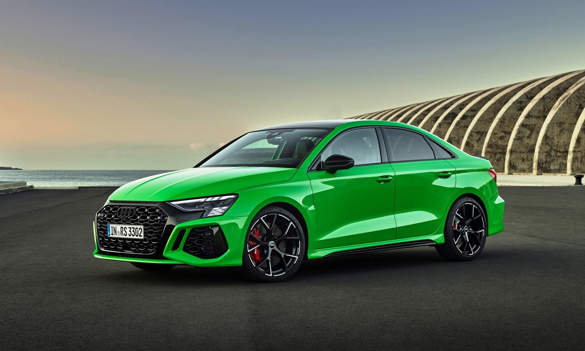New Audi RS3 sedan