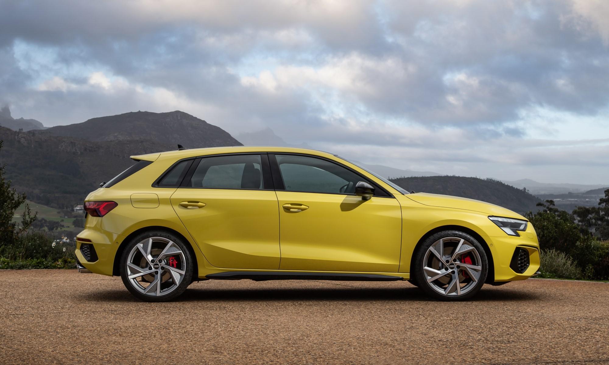 New Audi S3 profile