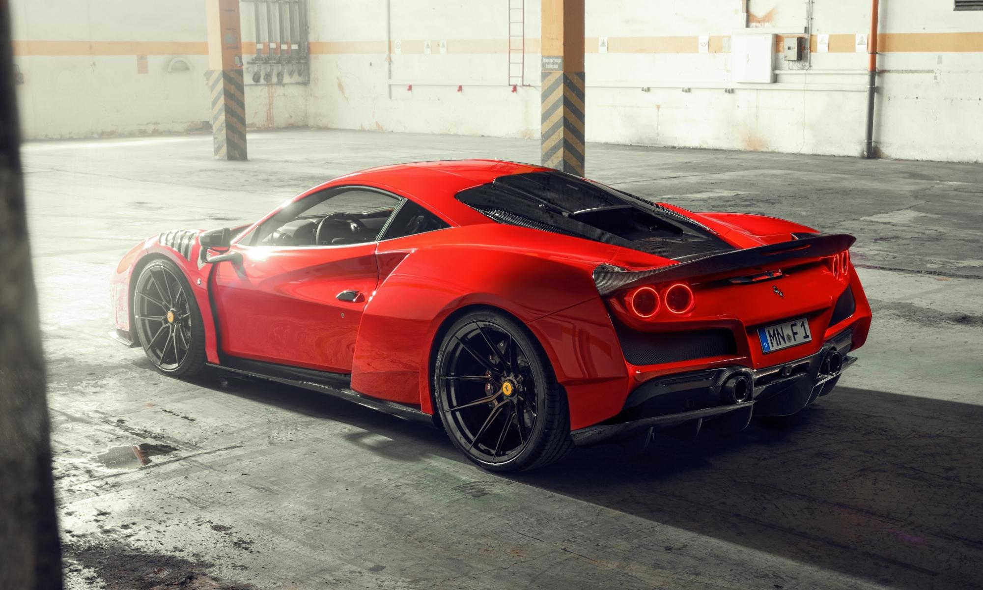 Novitec N-Largo Ferrari F8 Tributo rear