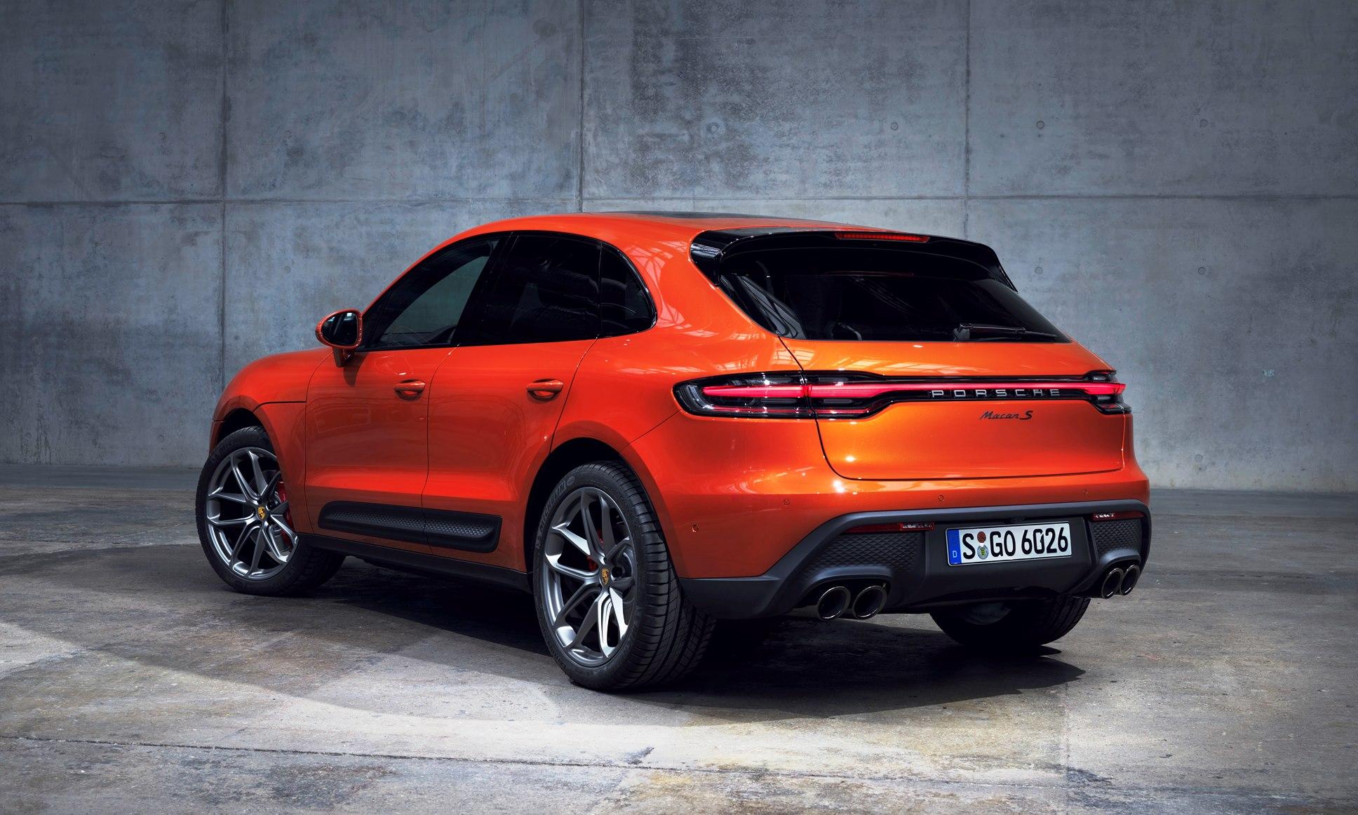 Updated Porsche Macan rear